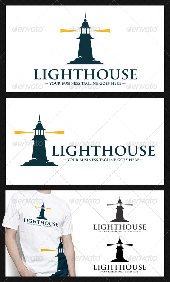 GraphicRiver Lighthouse Logo Template 4058337