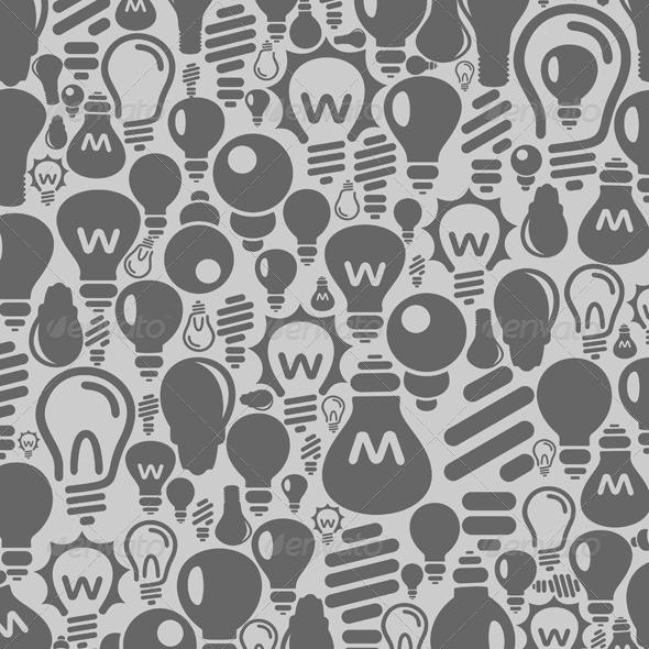 GraphicRiver Bulb Background 4058387