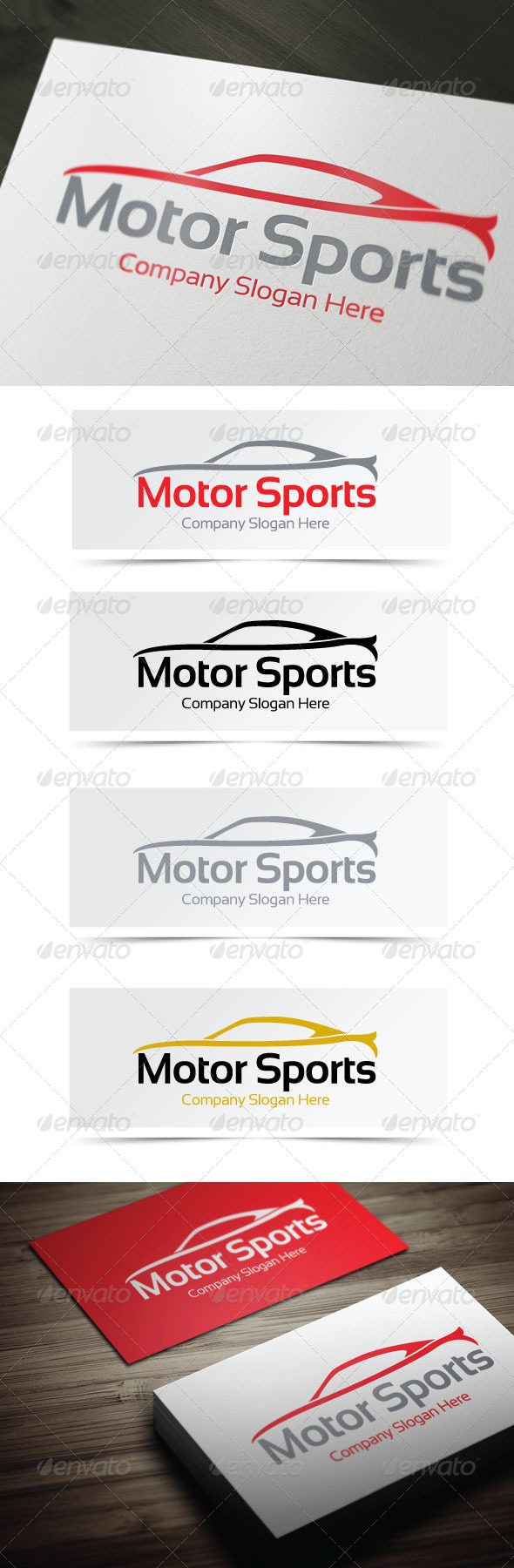 GraphicRiver Motor Sports Logo 4060621
