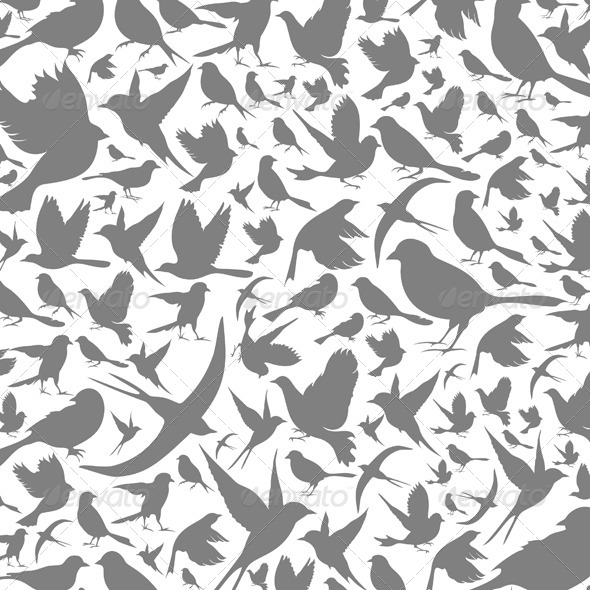 GraphicRiver Birds Background 4061742
