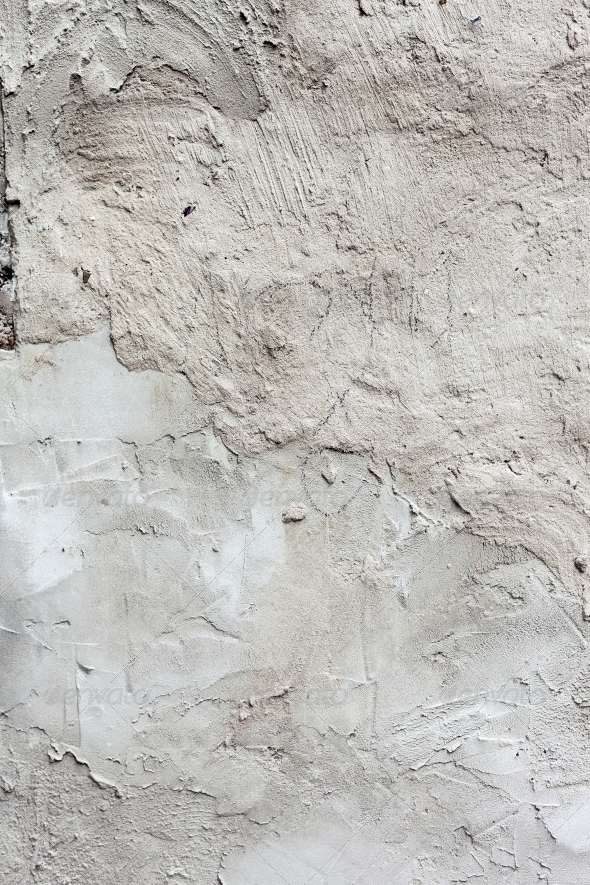 GraphicRiver Background high detailed fragment stone white wall 4061865