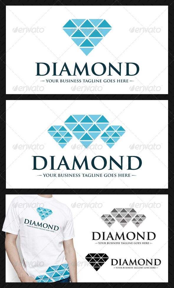 GraphicRiver Diamond Logo Template 4062390