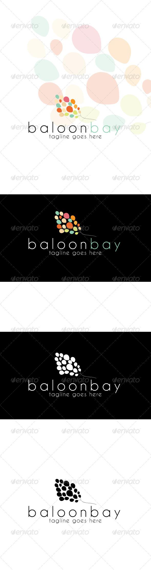 GraphicRiver Baloonbay Logo 4063267