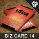 Business Card Design 14 - GraphicRiver Item for Sale