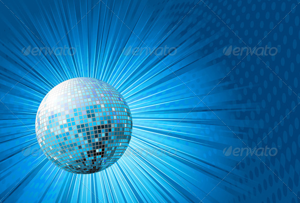 GraphicRiver Abstract Party Background 4064964