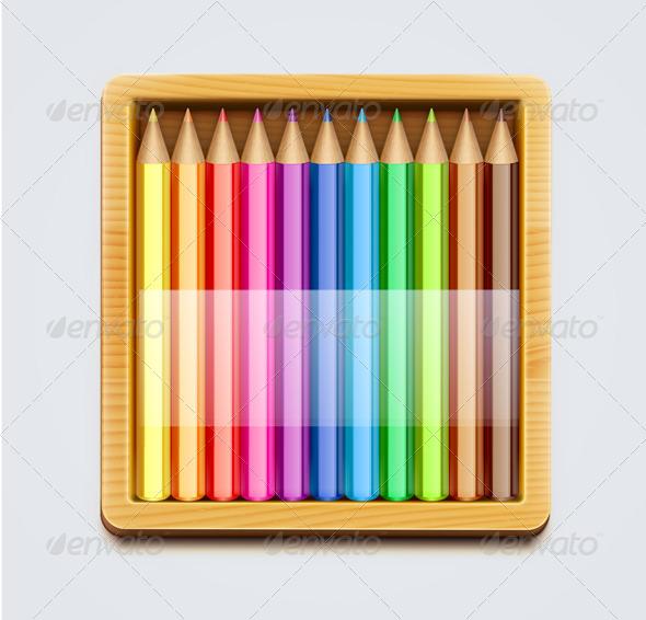 GraphicRiver Color Pencils 4065226