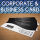 Elegant Corporate & Business Card  - GraphicRiver Item for Sale