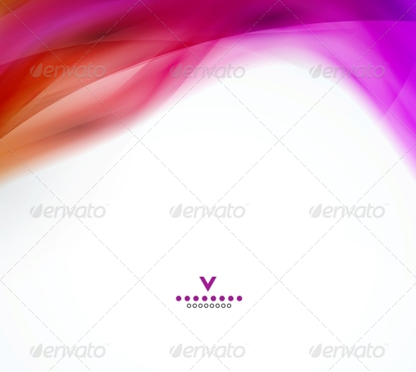 GraphicRiver Abstract Wave Design Template 4066240