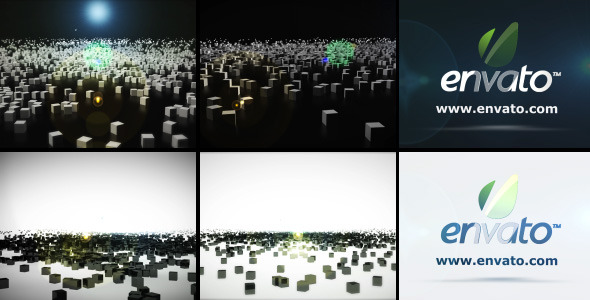 After Effects Project - VideoHive Particle Logo Intro 411477