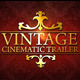 Vintage Cinematic Trailer Pack - VideoHive Item for Sale
