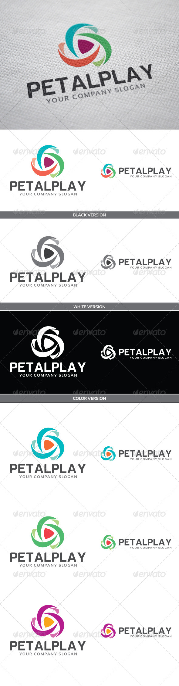 GraphicRiver PetalPlay 4068724