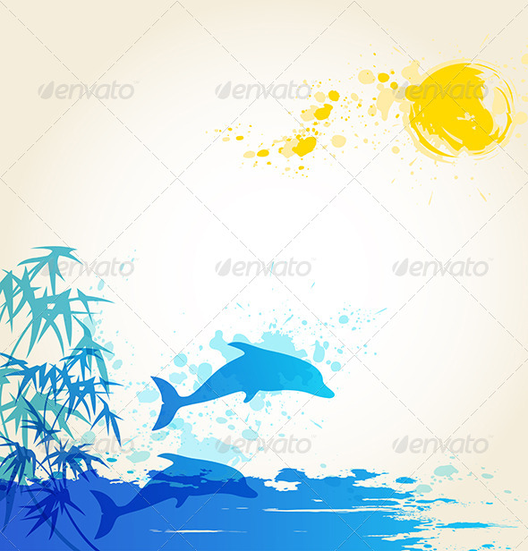 GraphicRiver Summer Background 4068950