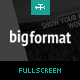 BigFormat - Responsive Fullscreen Wordpress Theme - ThemeForest Item for Sale