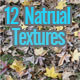12 Textures from Nature - GraphicRiver Item for Sale