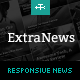 ExtraNews - Responsive News and Magazine Theme - ThemeForest Item for Sale