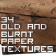 Old And Burnt Paper Textures - GraphicRiver Item for Sale