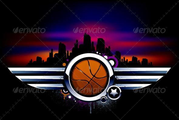 GraphicRiver Sport Background 4072944