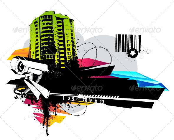 GraphicRiver Urban Design 4073133