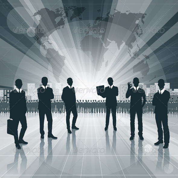 GraphicRiver Conceptual Business Background 4073708