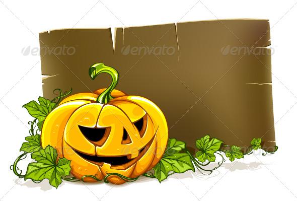 GraphicRiver Halloween Banner 4073872