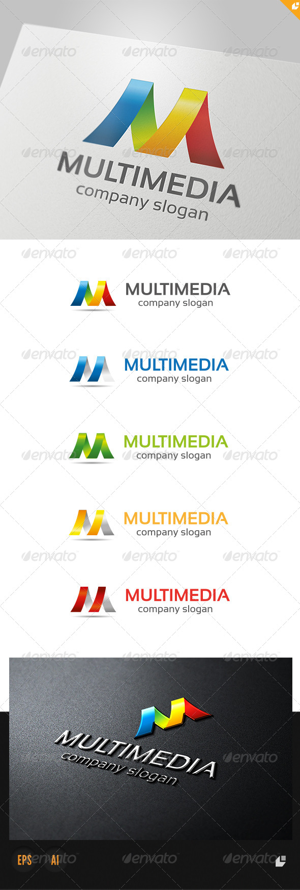 GraphicRiver Multimedia Logo 4076046