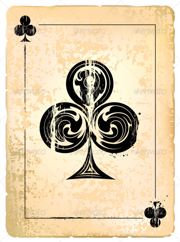 GraphicRiver Ace of Clubs 4076128