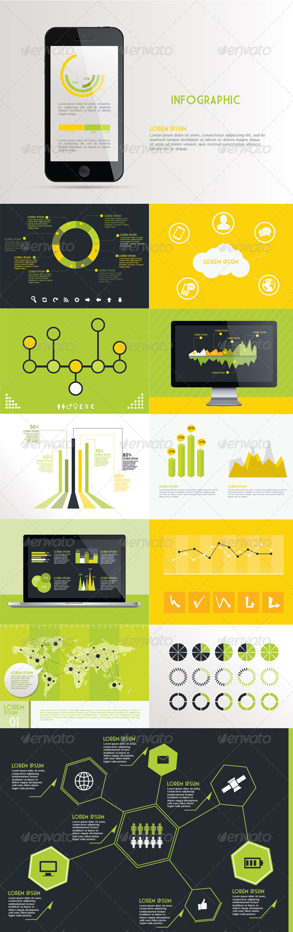 GraphicRiver Infographic Kit 4076360
