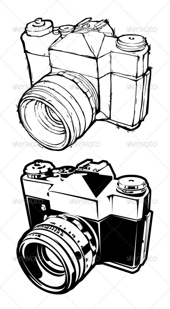 GraphicRiver Retro Camera 4076652