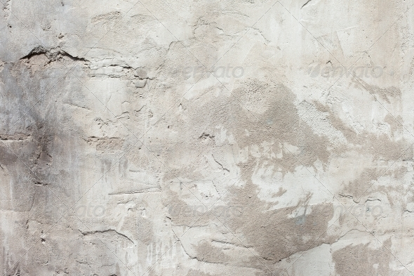 GraphicRiver Background high detailed fragment stone white wall 4077333