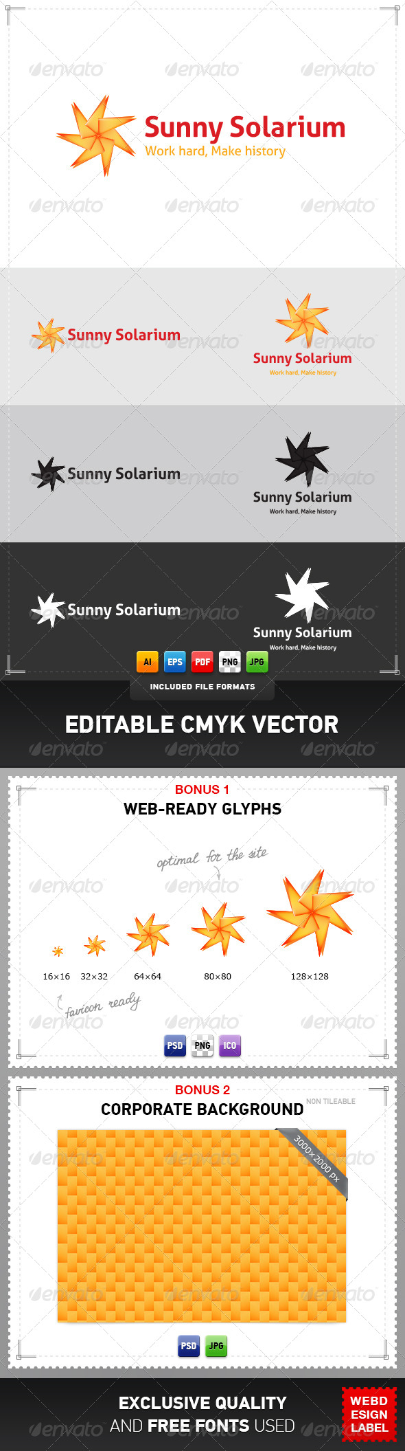 GraphicRiver Sunny Solarium Logo 4077414