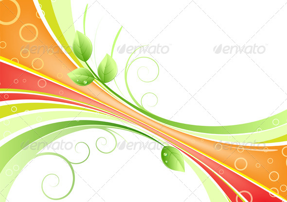 GraphicRiver Floral Background 4078779