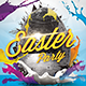 Easter Party Flayer Template - GraphicRiver Item for Sale
