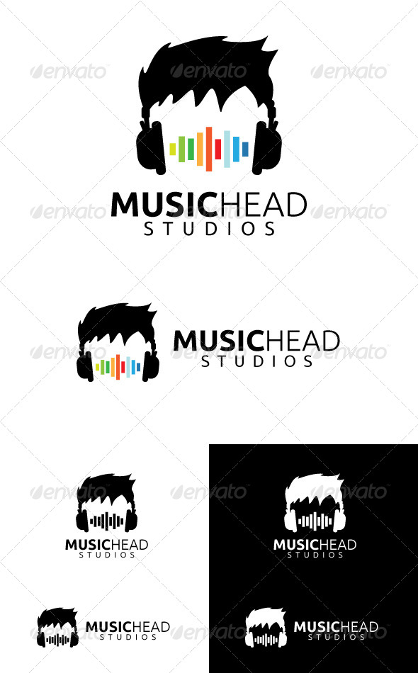 GraphicRiver Music Head Studios 4080034