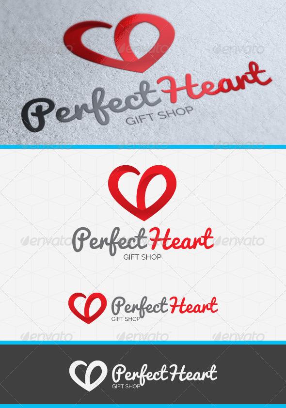 GraphicRiver Perfect Heart Logo 4080109