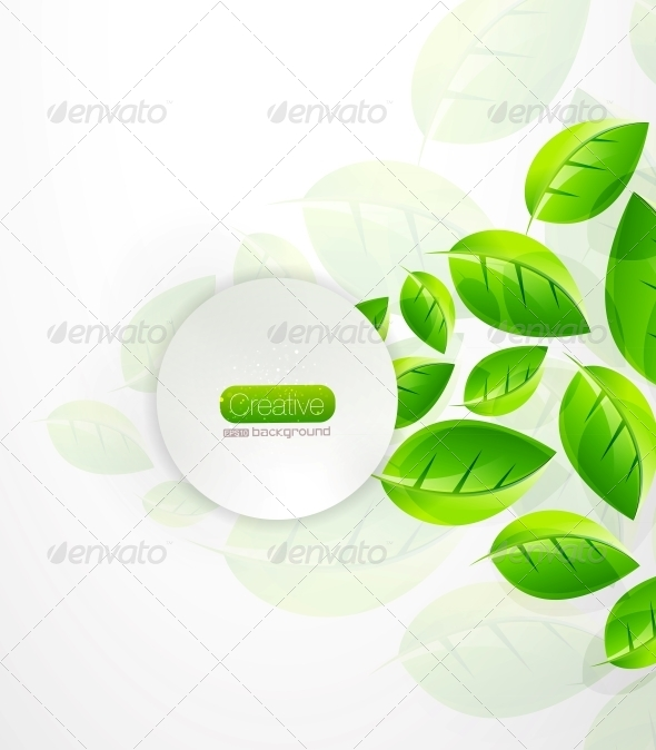GraphicRiver Green Nature Background 4081595