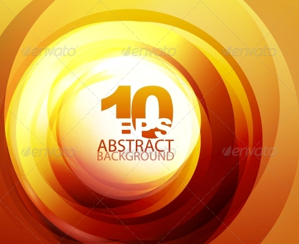 GraphicRiver Orange Abstract Background 4081865
