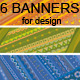 Ethnic Ornamental Banners Set - GraphicRiver Item for Sale