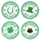 Happy St. Patrick's Day Stamps - GraphicRiver Item for Sale