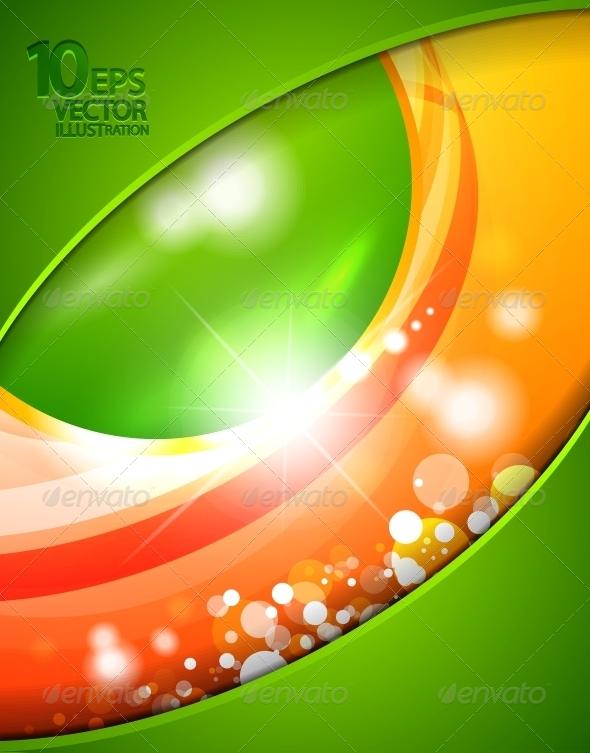 GraphicRiver Hi-Tech Shiny Techno Bubble Background 4093660