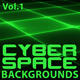 8 Cyberspace Tech Backgrounds - GraphicRiver Item for Sale