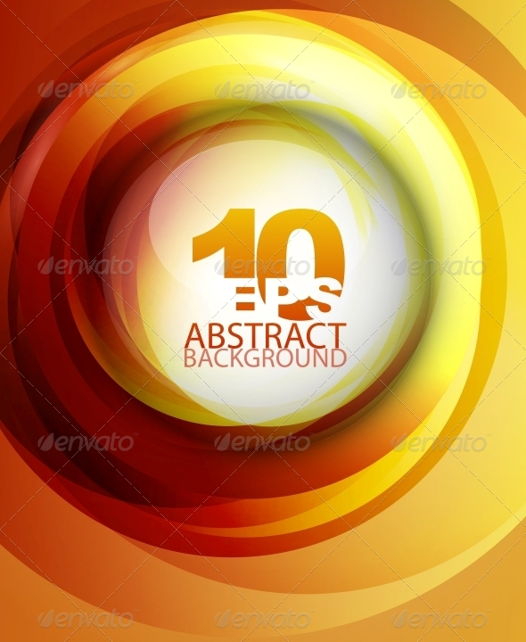 GraphicRiver Orange Abstract Background 4097867