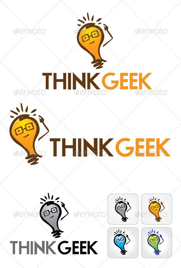 GraphicRiver Think Geek Logo 4098178