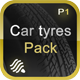 Car Tyres Pack - 3DOcean Item for Sale