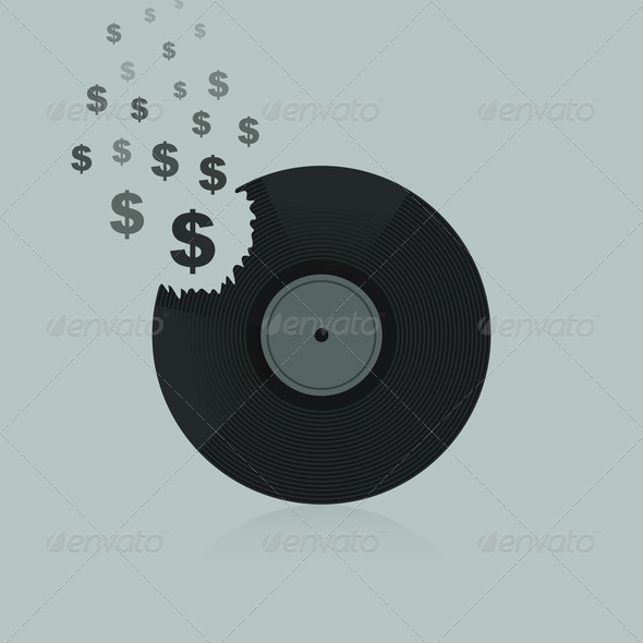 PhotoDune Dollar Vinyl 4102233