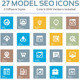 Model Seo Icon Beautiful - GraphicRiver Item for Sale
