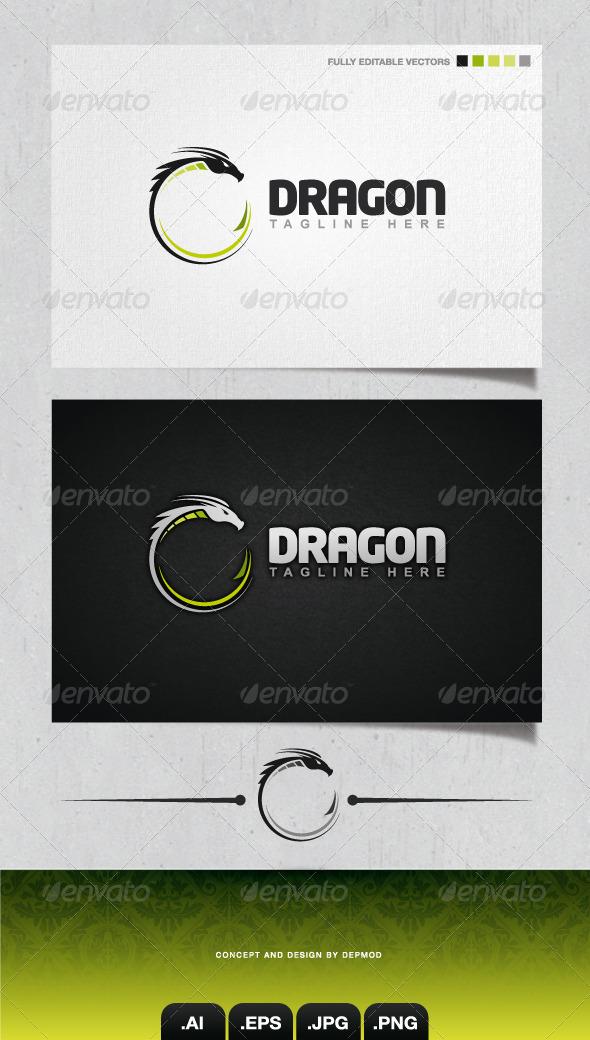 GraphicRiver Dragon Logo 4106382