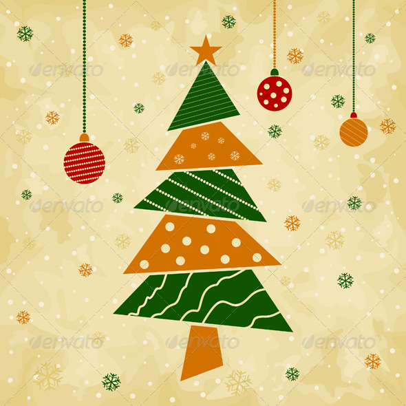 GraphicRiver Christmas Tree 4107598