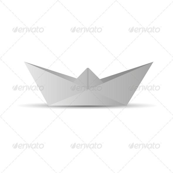 GraphicRiver Paper Boat 4112139