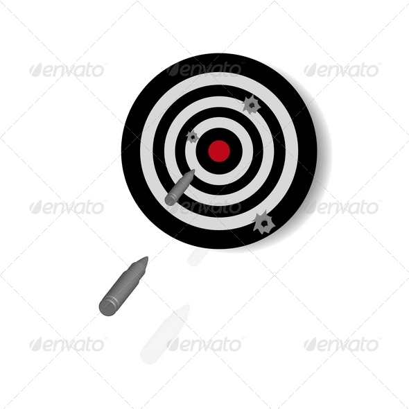 GraphicRiver Target for shooting 4112468