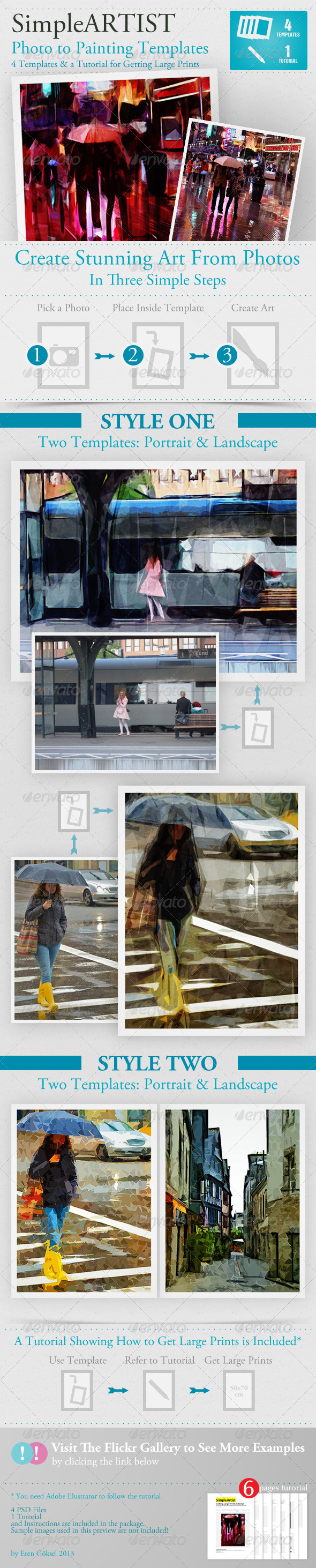 GraphicRiver Simple Artist Painting Template 4115707